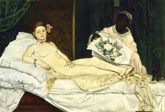 Olympia, by Édouard Manet, 1863