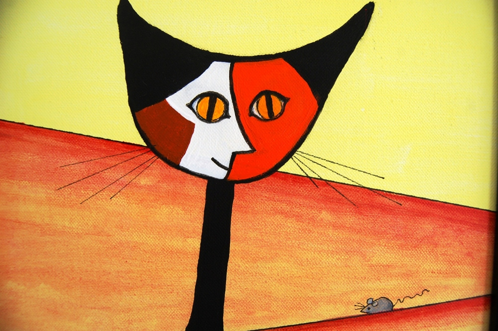 Pablo Picasso: Tribute to a Cat and a Dog (1/4)