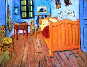 Van Gogh's Bedroom in Arles, by Van Gogh
