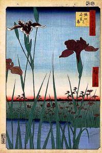 398px-Hiroshige,_Horikiri_iris_garden,_1857