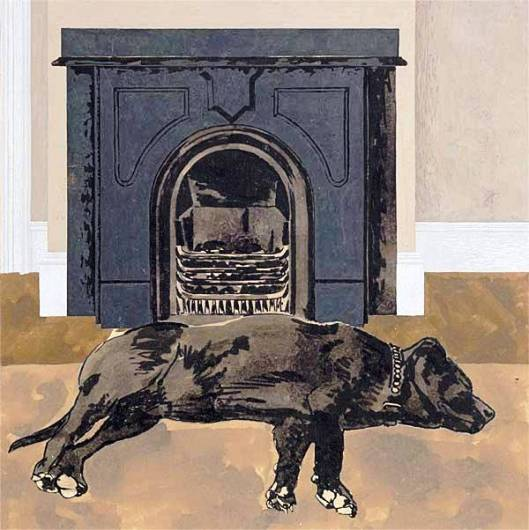 art_dog_and_fireplace