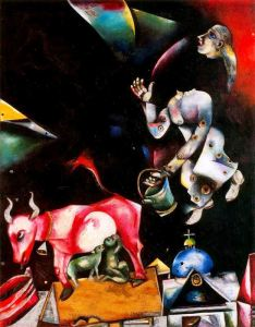 http://www.wikiart.org/en/marc-chagall/to-russia-with-asses-and-others