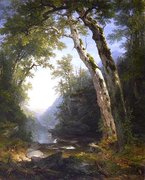 The Catskills , by Asher Brown Durand