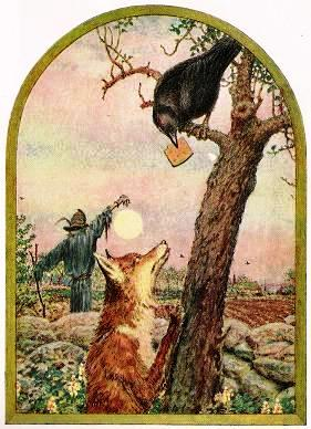 The Fox and the Crow by John Rae
