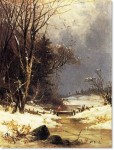 A Wintry Day, 1862