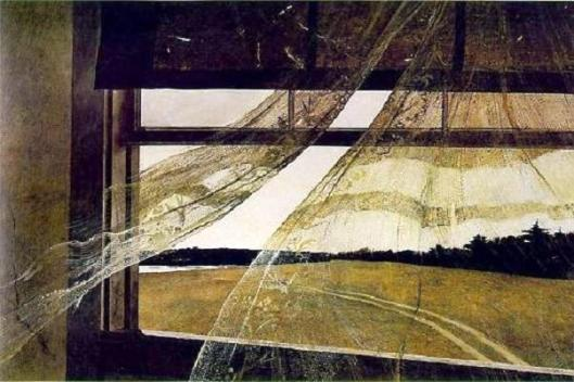 Wind, by Andrew Wyeth