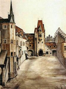 446px-Innsbruck_castle_courtyard