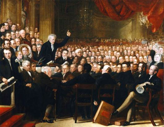 The 1840 Anti-Slavery Convention, London, England