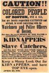 Kidnap Poster, c 1851