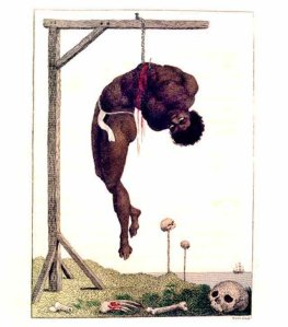 Slave hanging from his ribs, by William Blake (Photo credit: Wikipedia)