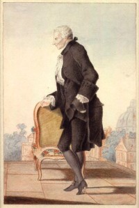 Laurence Sterne, by Louis de Carmontelle, c. 1762 (Photo credit: Wikipedia)