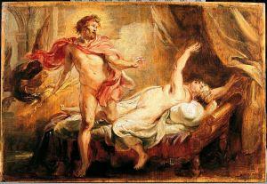 Peter Paul Rubens' Death of Semele, caused by