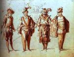 Commedia dell'arte, by Claude Gillot