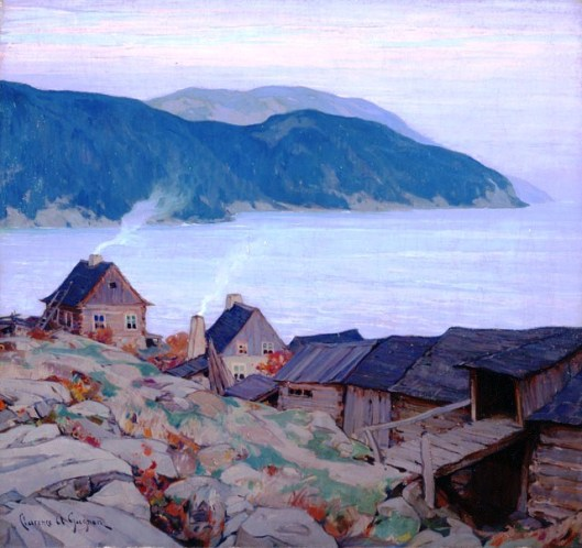 Evening on the North Shore, by Clarence Gagnon