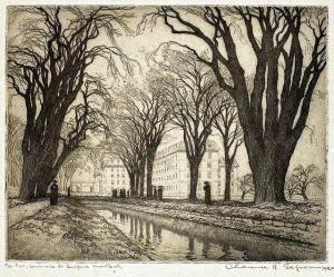 The Lake, Séminaire Saint-Sulpice, Montreal Clarence Gagnon 1917