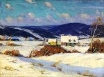 In the Laurentians, by Clarence Gagnon, 1910 (NGC)