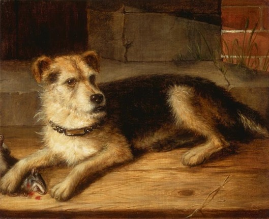 Jerry, by Cornelius Krieghoff, 1860 (The National Gallery of Art)