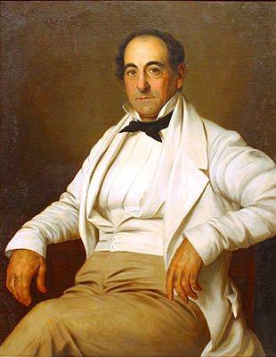 Michel Douradou Bringier, 1843, by Jacques Amans