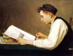 Young Student, by Ozias Leduc