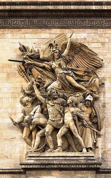 La Marseillaise as represented on the Arc de Triomphe