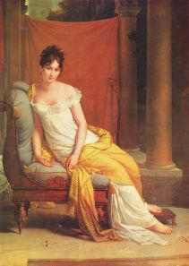 Portrait by François Pascal Simon, Baron Gérard, 1802