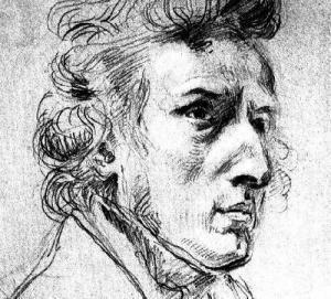 Chopin, by Eugène Delacroix