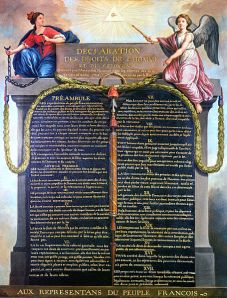 The Declaration of the Rights of Man and of the Citizen, 1789