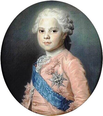 Louis Stanilas Xavier de France, Comte de Provence, Maurice Quentin de la Tour, 1762
