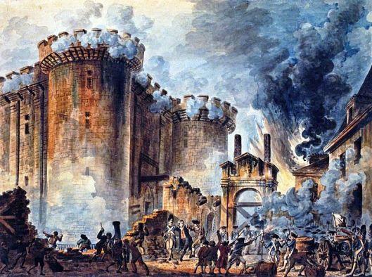 Prise de la Bastille by Jean-Pierre Houël
