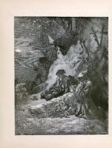 Ilustration of Atala,by Gustave Doré