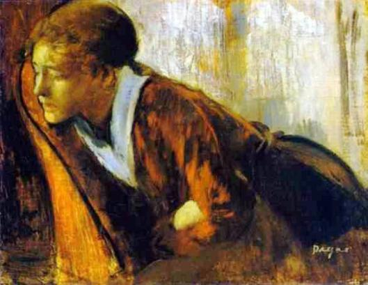 Edgar Degas, Melancholy (c. 1874)