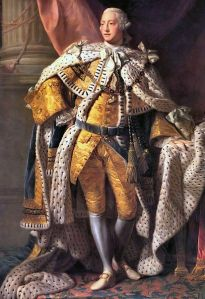 King George III of England, by Allan Ramsay