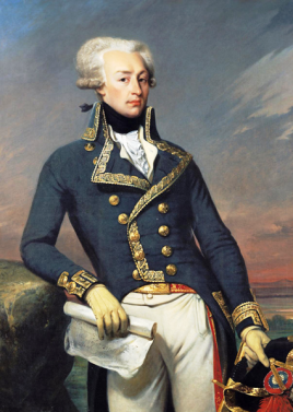 La Fayette as a Lieutenant General, in 1791. Portrait by Joseph-Désiré Court