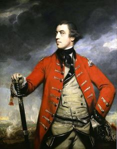 General Burgoyne Portrait by Joshua Reynolds, c. 1766