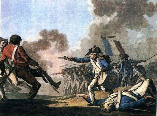The War in the Vendée was a royalist uprising that was suppressed by the republican forces in 1796