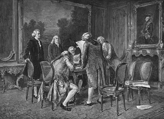 Preliminary Treaty of Paris (Photo Credit: Wikipedia)