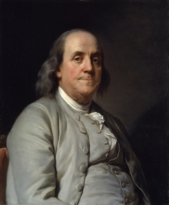 Benjamin Franklin, by  Duplessis