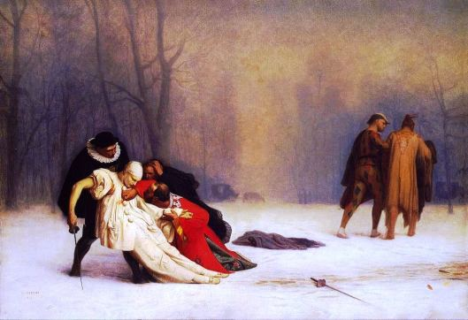 The Duel after the Masquerade, by Jean-Léon Gerome (Photo credit: Wikipedia)