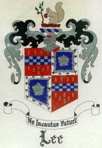 Arthur Lee's Family's Coat of Arms
