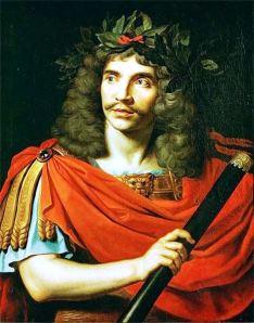 Molière by Nicolas Mignard