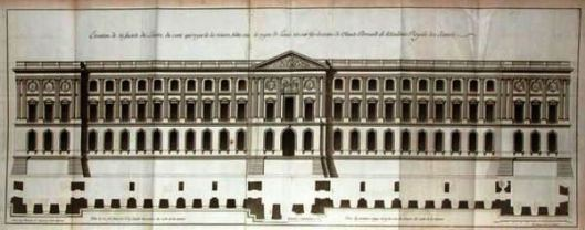 The East Façade by Claude Perrault
