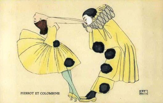 Pierrot et Colombine, by Leo Rauth