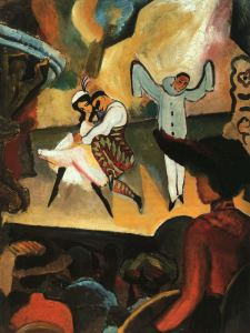 Ballet Russes, by August Macke, 1912 (Photo credit: Wikipedia)