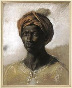 Portrait of a Turk in a Turban