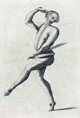 John Rich, as Harlequin