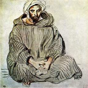Seated Arab in Tangier, 1832