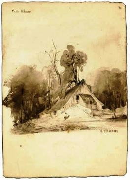 House in a Grove (Bocage)