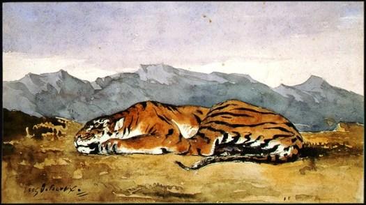Tiger, 1830