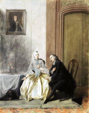 Scene from Tartuffe  Jacobus Buys