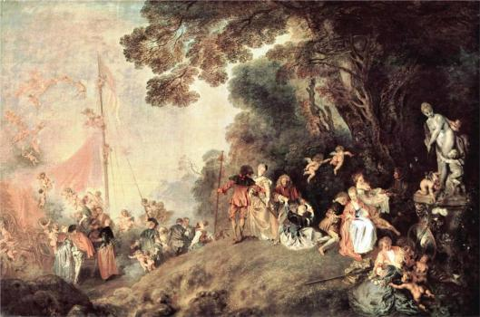 Embarkation for Cythere, by Jean-Antoine Watteau